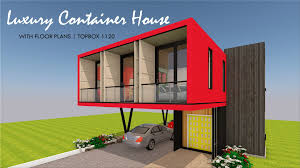 100 Custom Shipping Container Homes TOPBOX 1120 ID S23321120 3 Beds 2 Baths 1120SFt