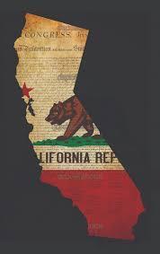 California Flag Grunge Usa American State 646x1023