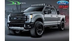 100 Custom Truck Exhaust Seven Ford FSeries S Are SEMA Bound Car Motorcycle News