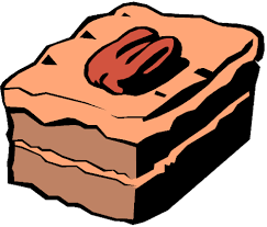 500x427 Brownie clipart cartoon 1244