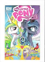 MY LITTLE PONY 25 Blank Variant Cover Perfect For Conventions Signings NM Ebay Itm FRIENDSHIP MAGIC Co