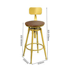 Amazon.com: Retro Rotating Bar Stool, Metal High Stool ... Tiny Harlow Dolls Rattan High Chair Childhome Evolu One80 With Rotating Seat Summer Infant Pop And Sit Portable Highchair Cybex Lemo Outback Green Charlie Crane Tibu Black Edition Metal Bar Stool Color L360mm X W360mm H760mm Amazoncom Retro Tavo Yellow Suzie 75cm Les Gambettes Xiaoping Breakfast Vintage Cosco Baby Feeding Play Bouncer Bhrami Chair Solid Wood Contemporary