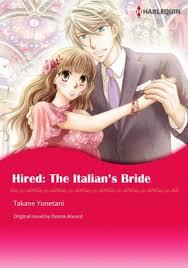 HIRED THE ITALIANS BRIDE Harlequin Comics