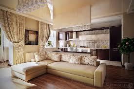Kitchen Design Brown Rectangle Modern Wooden Interior Designs For And Living Room Varnished Ideas