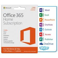 Microsoft fice 365 Home 5 Device 12 Months Download