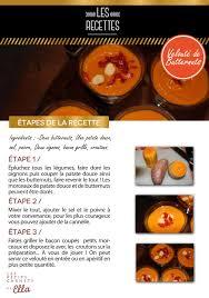 fiche cuisine fiche recette de cuisine velouté de butternuts les petits