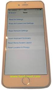 Apple iPhone 6 hard reset