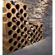 range bouteille en brique casier 15 bouteilles castorama
