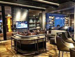Caesars Palace Hotel Front Desk by Caesar U0027s Palace Opens New 4 000 Square Foot Montecristo Cigar Bar
