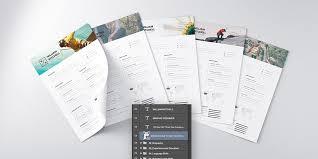 25 Best Free Resume CV Templates PSD