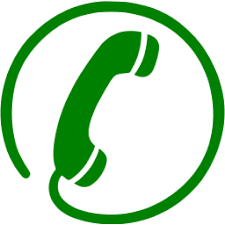 Green phone 39 icon Free green phone icons