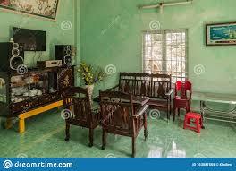förmliches wohnzimmer im bauernhaus in nha trang