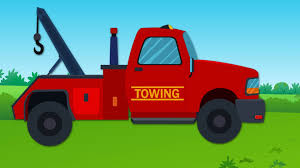 Tow Truck And Repairs | Tow Truck Videos For Kids - YouTube
