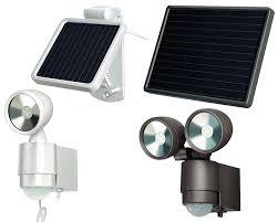spots à led solaires à détecteur de mouvement brennenstuhl l
