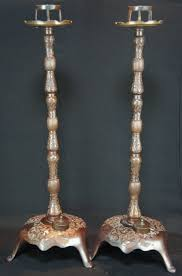 Ebay Antique Lamps Vintage by Antique Rosokutate Traditional Japanese Candle Stand Bronze 1880