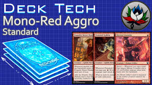 mono red aggro 20 budget standard deck tech khans of tarkir