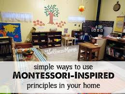 How to use montessori inspired principles in your home