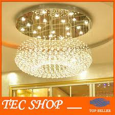 jh moderne kristall deckenleuchte wohnzimmer le runde hängende kristalllichter hotel lobby kristall le engineering len