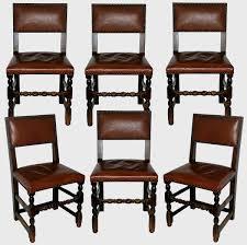 chaises louis xiii suite de six chaises de style louis xiii epoque fin xixe début xxe