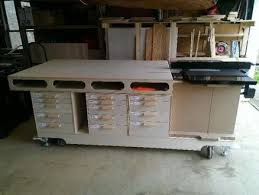 my ultimate mobile woodworking bench by garry lumberjocks com