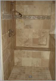 shower tile accent strips elegantly design troo