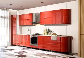 küche hochglanz rot ohne geräte xavien