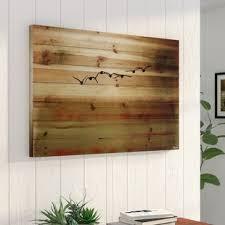 Sun Flight By Parvez Taj Painting Print On Natural Pine Wood
