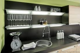 ingenious ideas modern kitchen wall shelves with lights diy cars