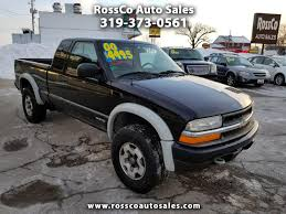 100 Used Chevy S10 Trucks For Sale 2000 Chevrolet Pickup For In Cedar Rapids IA 52402