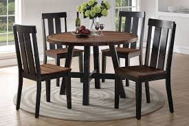 Poundex F2322 5 PC Two-tone Round Dinette Sunset Trading Co Selections Round Dinette Table Winners Only Quails Run 5 Piece Pedestal And 42 Ding With 4 Side Chairs Shown In Rustic Hickory Brown Maple An Asbury Finish Oak Set Rustica 54 W What I Want For My Kitchena Small Round Pedestal Table Archivist Crown Mark Camelia Espresso Glass Top Family Wood Kitchen Room Breakfast Fniture Modern Unique Sets Design Models New Traditional Cophagen 3piece Cinnamon
