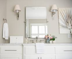 Pottery Barn Bathroom Wall Lights by My Master Bathroom Reveal Lavin Label