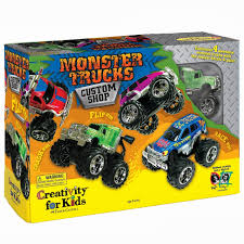 Monster Trucks Custom Shop, Monster Truck Video For Kids | Trucks ...