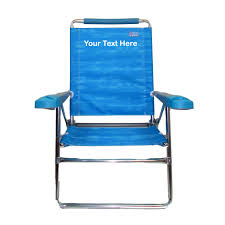 IMPRINTED High Beach Chair By Rio Beach - Blue, New 747565188810 | EBay Cuddler Chair Monogrammed Directors Director Canvas Chairs Covers L Image Personalized Tips For The Film Or Play In Imprinted Big Boy Extra Wide Bpack By Rio Interesting With Unique Logo Screen Prting Ez Up Tall Black Walmartcom Gold Metal And Table Custom Ikea Target