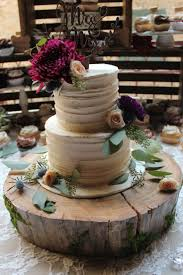 Rustic Crate Wedding Table Line Texture Buttercream And Cupcakes With Fresh Flowers Tree Trunk Cake