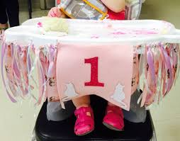 How To Make A DIY High Chair Banner For Your Baby's First ...