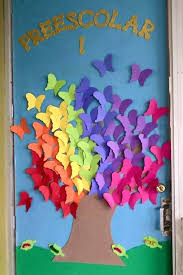 Spring Door Decor Decorations In The A Classroom Preschool 7