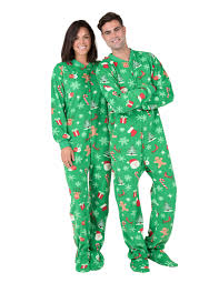 100 Fire Truck Pajamas Tis The Season Adult Footed Adult One Piece