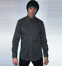 shirt polka dot men u0027s crazy diamond black mr free u2013 mr free shirts