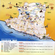 Yogyakarta Tour Map