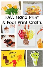Fall Hand Print Craft Ideas