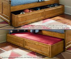 Bryce Canyon Full Size Bookcase Bed with Trundle 3900 4804K
