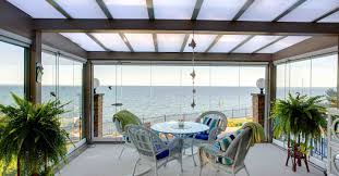 100 House Patio Retractable Glass Walls For Balconies Sunrooms And S