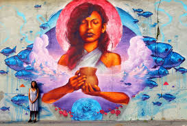 100 big ang mural brooklyn new haven magazine march april