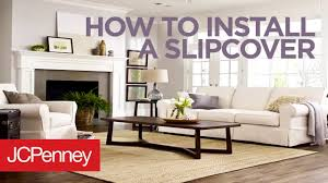 How To Install A Sofa Cover: Slipcover Tutorial | JCPenney Distributorjerseybolathaicom Jcpenney Slipcovers For Sectional Couch The Pottery Barn Remarkable Deal On Sure Fit Ballad Bouquet 1pc Shrd Sofa Ding Chair Covers Ideas Home Design Stretch Pique Slipcover Great Side Fniture Oversized Slipcovers To Keep Your Give Makeover With Recliner Armless For Room Unique Big Lots Best Fice Under 100 Jcpenney Patio Elegant Living