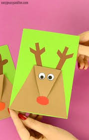 Reindeer Christmas Card Craft For Kids