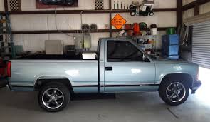 100 42 Chevy Truck 1989 Silverado With Vision Legend 5 Wheels