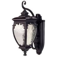 bellagio collection 21 high black outdoor wall light by