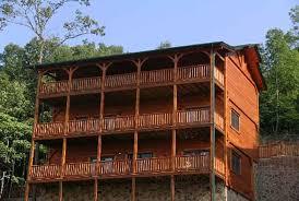 gatlinburg cabin 5 star lodge 5 bedroom sleeps 18 swimming