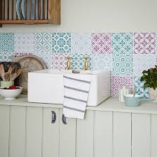 Stick To A Limited Colour Palette For Chic Effect The Tiles Are Perfect Backdrop Ceramic Sink Put Up Rack So That Plates In Easy Reach