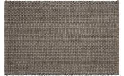 tapis coton tisse a plat gilmore tapis tissé plat 120x80cm en coton gris foncé habitat